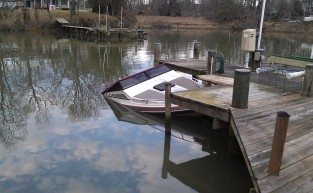 20' Powerboat Salvage