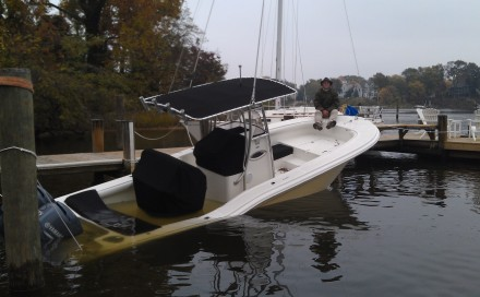 25' Powerboat Salvage