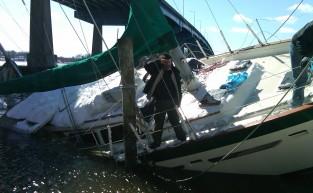 52' Sailboat Salvage with John Petrini