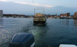 Towing in Baltimore Harbor