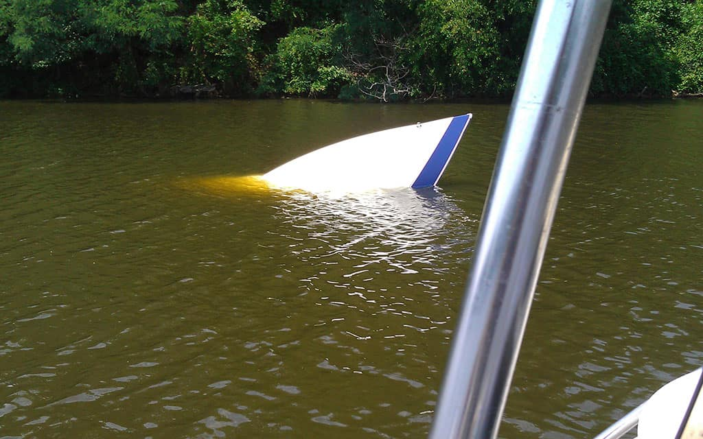 22 ft Powerboat Salvage