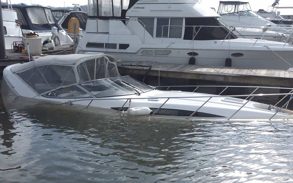 31 ft Bayliner Salvage Washington DC