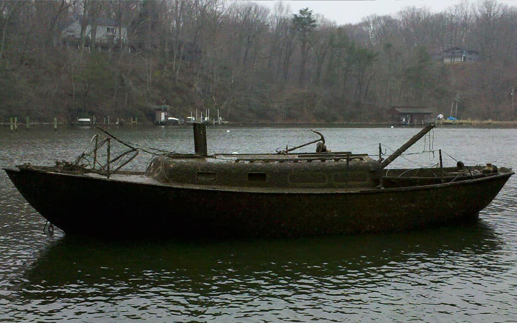 32 ft Allied Ketch Salvage