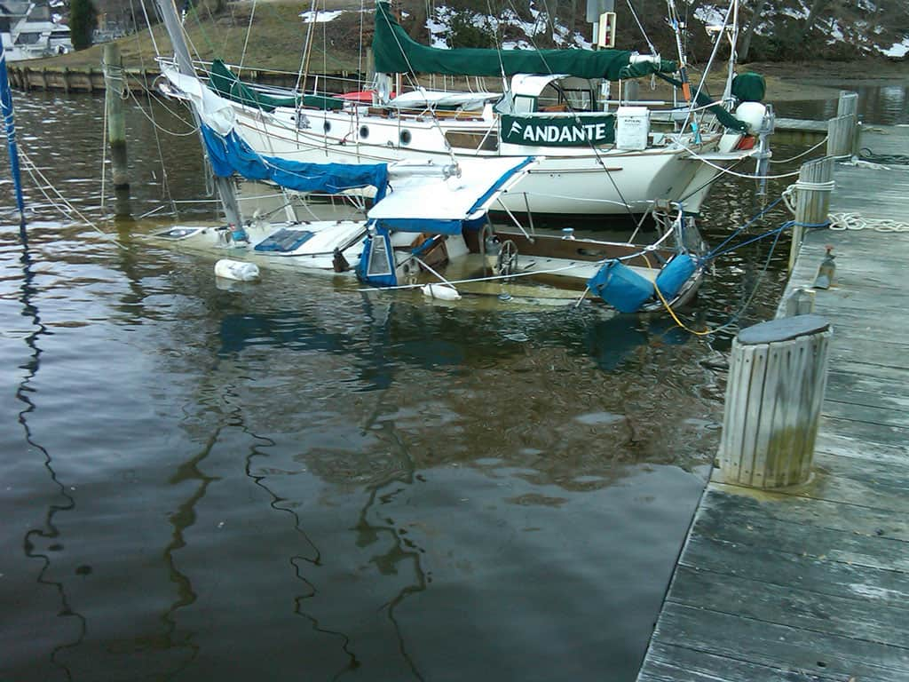 34 ft Salvage on Mill Creek