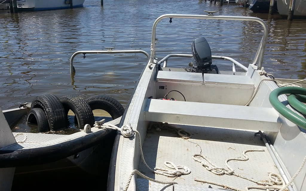 Aluminum Pushboat Salvage