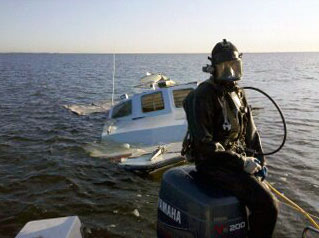 Mike Haskell with Harbor Diving and Salvage