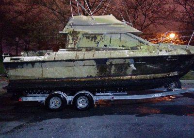 Baltimore Harbor Boat Disposal